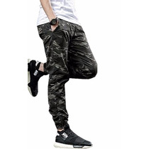 Calça Masculino Joggers Camuflada A Pronta Entrega