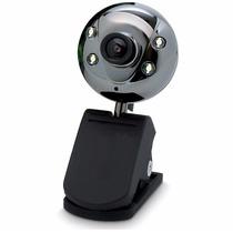 Web Cam Usb 2.0 Cyber St-cam001a C/ Visão Noturna+microfone