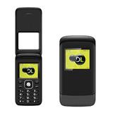 Celular Simples Barato Dl Flip Yc 230 Dual Chip Com Câmera
