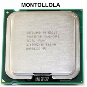 Procesador Intel (dual Core) E5300 2.6gh/2mb/800 Socket 775