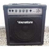 Amplificador P/bajo Wenstone Be-200 Estado D Fabrica Permuto
