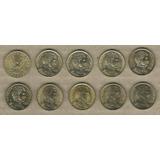 Lote De Chile: 10 X 10 Pesos Chile 1990-2006 Unc C904