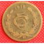 5 Centavos 1916 Mexico Moneda Escasa Revolución Mexicana Vbf