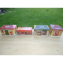 Lata Caja Vela Aromatica Colección Coca Cola Navidad