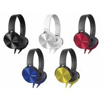 Auricular Sony Xb 450 Azul