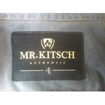 Camisa Social Mr. Kitsch Tamanho Xgg - Original
