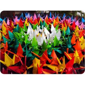 Origami - Tsuru - 100 Unidades Tsurus 08 - 10 - 15cm