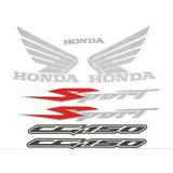 Kit Adesivos Honda Titan 150 Sport 2005 Preta