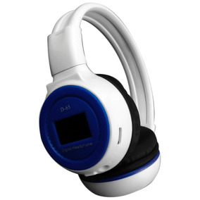 Auriculares Inalámbricos Mp3 Sd Plegables Con Fm Bateria Loi