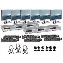 6 Computadoras Ht A 3.0ghz+2gb+80gb+lcd17 Ideales Para Ciber