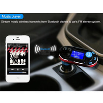Bluetooth Manos Libres Transmisor Fm Reproductor De Mp3 Carg