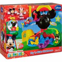 Brinquedo Mickey Mouse E Minnie Nova Casa Do Mickey Mattel