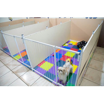 Cercado Canil Para Cães E Cachorros Filhotes ( 05 Grades )