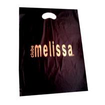 2 Sacolas Melissas Personalizadas Cada Unidades 0,79