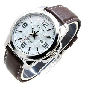 Reloj Casio Mtp1314 Piel Analogo Fechador