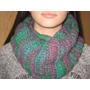 Bufanda Circular Infinita Tejidas A Mano( Al Crochet )