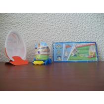 Miniatura Kinder Joy - Jogo De Futebol - Dc304d