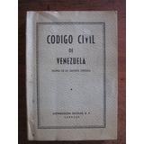 Codigo Civil De Venezuela (copia De La Gaceta Oficial)