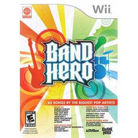Band Hero - Wii - Original / Novo / Relacrado
