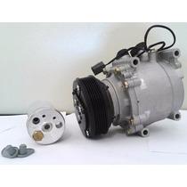 Compressor Honda Civic 2001 Até 2006 + Filtro Secador R134a