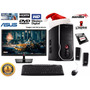 Pc Amd Nueva Completa + Monitor Led 19 1 Tb 4gb Ram Dvd Hdmi