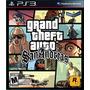 Grand Theft Auto San Andreas Ps3 Original Físico Disco Gta