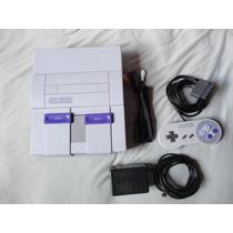 Super Nintendo 1 Controle + 1 Fita Super Mario World