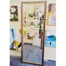 Espelho Grande 160x50cm C/ Moldura Frete Grátis P/gd S Paulo