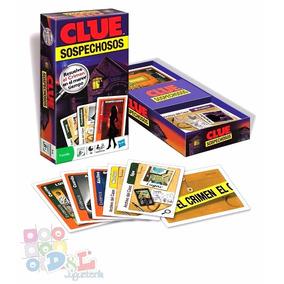 Juego De Mesa Clue Clásico Del Misterio Original Hasbro Mirá
