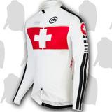 Ropa Uniforme Ciclismo Camisa Manga Larga Mtb Ruta Fast Dry