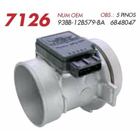 Sensor De Fluxo De Ar Ford Escort Zetec 1.8 16v 96/02 [maf]