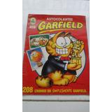 Álbum Figurinhas Autocolantes Garfield Incompleto Bom Estado