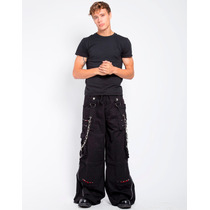 Pantalon Flojos Tripp Af7647m C/ Cadenas Punk Rocker Gothic