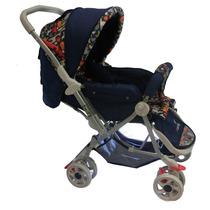 Carrinho De Bebê Color Baby Azul Com Desenho Animal