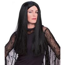 Disfraz Niño El Vestuario Addams Family Deluxe Morticia Pel