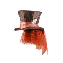 Disfraz Sombrerero Loco Con El Sombrero De Pelo De Adulto