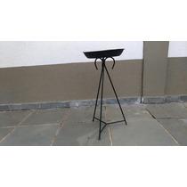 Suporte Pra Vaso Pra Planta.alt.60cm E 28,50cm