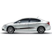 Adesivo New Civic Honda Mod Cv6 Acessórios Lxs Lxr La