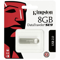 Pen Drive 8gb Kingston Metal Casing Original Sellado