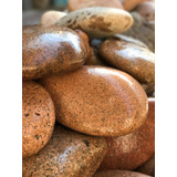 Piedra Natural Bola Bocha Plato Tejo Rosada X 30 Kg Unica