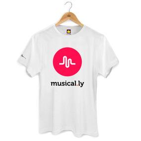 Camiseta Musical.ly Adulto Camisa Musical Ly Mt0071