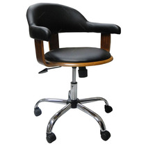 Cadeira Escritório Com Rodinhas Walnut Wo S/juros S/frete
