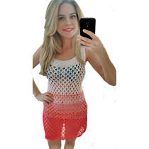 Saidinha De Praia Banho Trico Vestido Compre 2 Leve 3