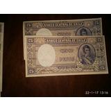 Billetes Antiguos De Chile