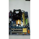 Placa Mãe Intel Lga775 Ddr2 Ga-g31m-es2l