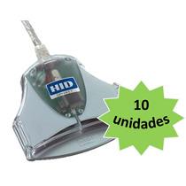 10 Leitoras Smartcard Omnikey 3021 Para Certificado Digital