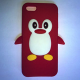 Capinha Iphone 5/5s Modelo Pinguin
