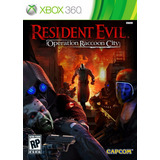Juego Xbox 360 Resident Evil Operation Raccoon City