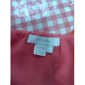 Blusa Mujer De Gasa Marca Zara