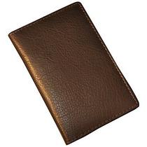 Porta Pasaporte Budd Leather Passport Caso De Cuero De Vaca